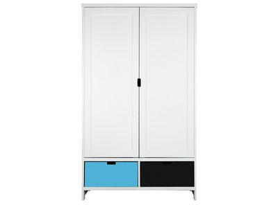 Bopita 2 deurs mix & match kleding kast wit excl bakken