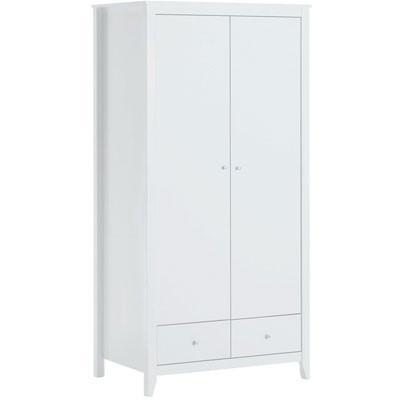 Hoppekids 2 deurs kleding kast wit
