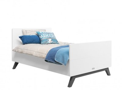 Bopita Levi juniorbed 90x160 white/grey wash
