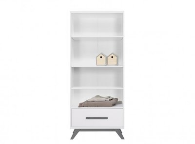 Bopita Levi boekenkast white/grey