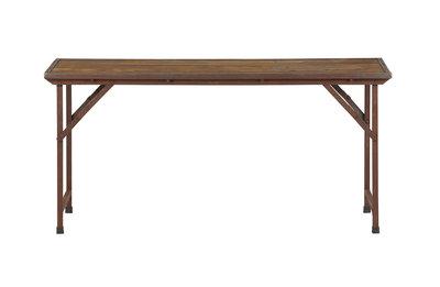 VT wonen Tent bureau klapbaar hout vintage