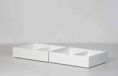Danish set bedlades tbv 90x200 helder wit