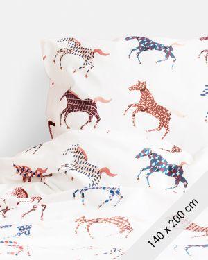Studio Ditte Paarden dekbedovertrek 1 persoons