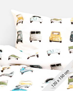 Studio Ditte auto dekbedovertrek Junior bed