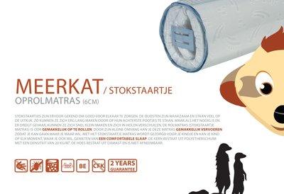 ABZ Meerkat 60x120 oprolbaar reisbed matrasje