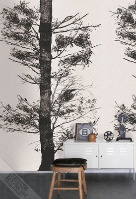Onszelf Loft Posterbehang - Tree black