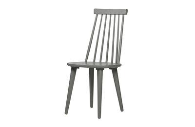 VT wonen Sticks spijlenstoel set van 2 beton grijs