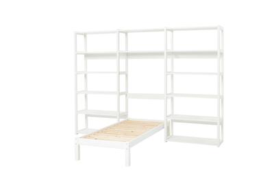 Hoppekids Storey wandkast met  14 planken en bed 70 x 160 cm