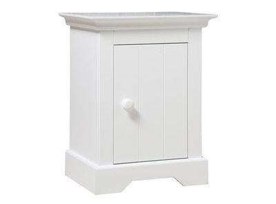 Bopita Narbonne nachtkastje wit