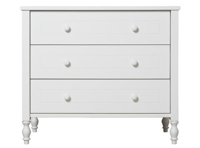 Bopita Belle 3 laden commode wit