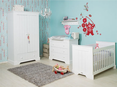 Bopita Narbonne 3 delige babykamer wit