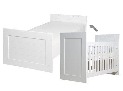 Bopita Classic omvorm & meegroei bed 60x120 / 90x200 wit