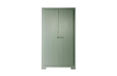 Woood Nikki 2 deurs kast grenen jadegroen