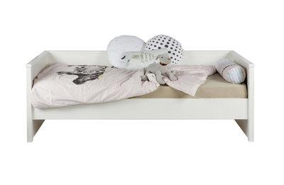 Woood Jade bedbank 90x200 grenen wit
