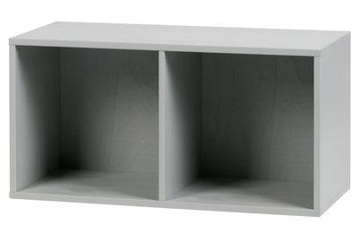VT wonen Lower case two open kastje grenen beton grijs