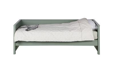 Woood Nikki bedbank 90x200 grenen jadegroen
