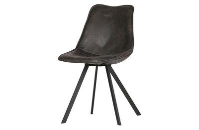 Woood Swen set van 2 stoelen zwart