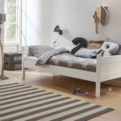 Alta 5010 bedbank wit 90x200 actie!