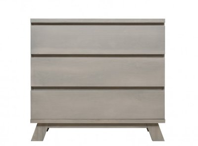 Bopita Pebble Wood 3 lade commode gravel wash