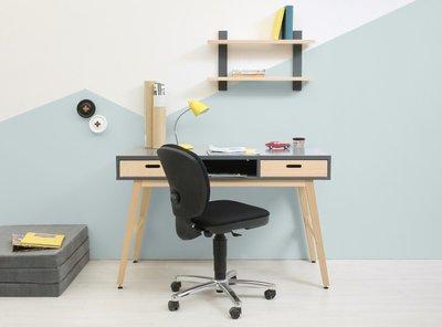 Bopita Kyan design bureau deep grey - naturel