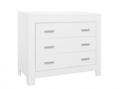 Bopita Merel 3 lade commode wit