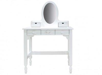 Toilettafel Met Spiegel Wit.Bopita Romantic Kaptafel Met Spiegel Wit Kinderbeddenstore