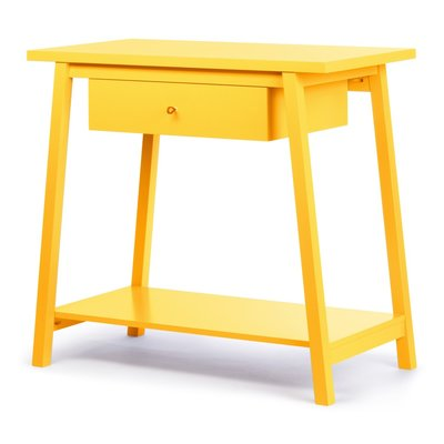 Coming Kids Havana aankleed tafel yellow