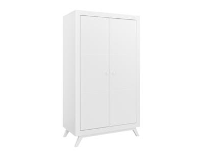 Bopita Fiore 2 deurs kledingkast wit