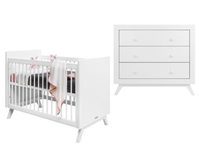 Bopita Fiore 2-delige babykamer wit