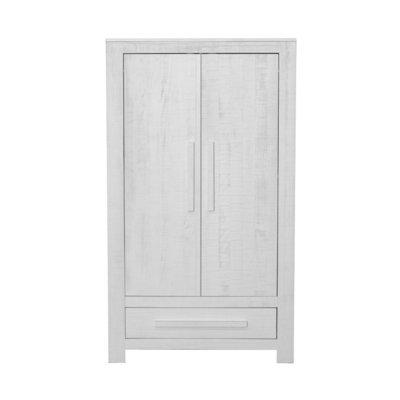 Coming kids Salty 2 deurs kleding kast grenenhout wit