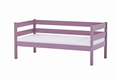 Hoppekids Ida junior bed 70x160 grenen paars