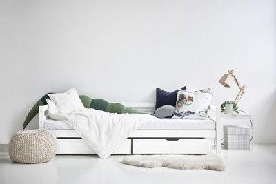 Hoppekids Basic sofabed 90x200 wit