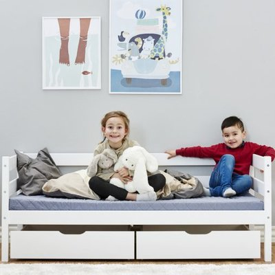 Hoppekids Ida Marie junior bed 70x160 grenen wit