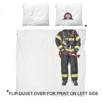 Snurk dekbedovertrek twijfelaar 200x200  Firefighter