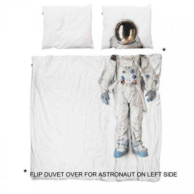 Snurk  dekbedovertrek twijfelaar 200x200 Astronaut