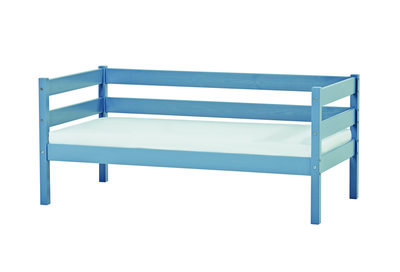 Hoppekids Ida junior bed 70x160 grenen blauw