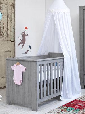 Coming kids Zanzi 60x120 ledikant grenen grijs