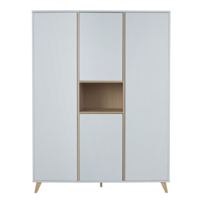 Quax Loft kledingkast XL 4 deuren wit