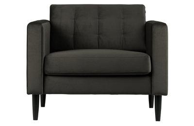 Woood Livia fauteuil warm groen