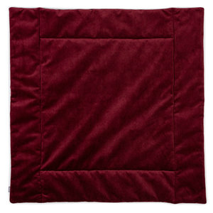 kidsdepot matty boxkleed 80x80 wine red