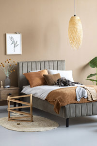 coming kids Luno bed stof sweet grey 65