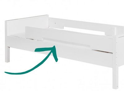 Bopita combiflex uitvalbeschermer wit