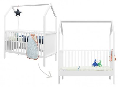 Bopita My first house Juniorbed 70x140 Wit