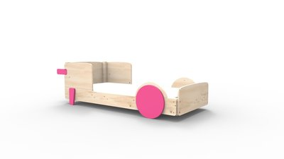 mathy by bols discovery bed fucshia roze