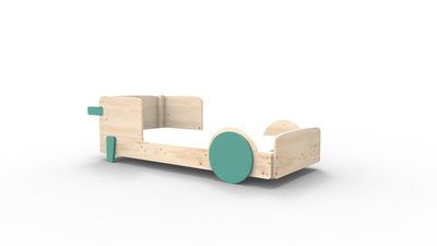 mathy by bols discovery bed licht groen