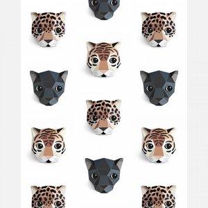 Studio Ditte behang panthera wit
