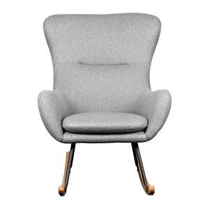 Quax Schommelstoel voor volwassenen Basic soft grey