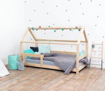 Villa per bambini huis bed Livio 90x200 naturel onbehandeld