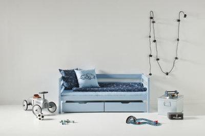 Hoppekids Ida Marie junior bed 70x160 grenen Dream blue sfeerbeeld