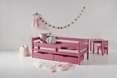 Hoppekids Ida Marie junior bed 70x160 grenen Baroque rose